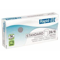 Zszywki Rapid Standard 26/6, 5M - 24861800