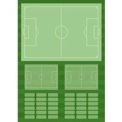 Tablica taktyczna trenerska piłka nożna 392 magnetyczna suchościeralna