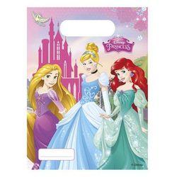 Prezentowe torebki urodzinowe Princess - Księżniczka - 6 szt.