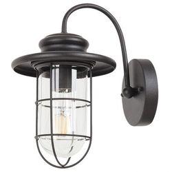 Kinkiet Rabalux Pavia 8069 lampa ogrodowa zewnętrzna 1x60W E27 IP44 czarny mat