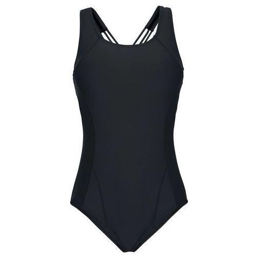 Stroje kąpielowe, Kostium kąpielowy bonprix czarny