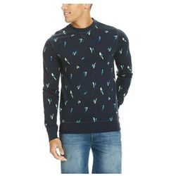 bluza BENCH - Parrot Aop Crew Neck Total Eclipse (NY031) rozmiar: XL