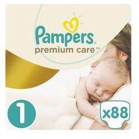 Pieluchy jednorazowe, Pieluszki Pampers Premium Care Newborn rozmiar 1, 88 szt.