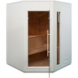 Sauna fińska z piecem E3C White Oferta specjalna! Teraz kupisz 17% taniej.