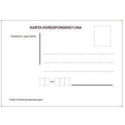 Karta korespondencyjna [Pu/B-173]