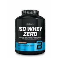 Odżywki białkowe, Biotech ISO WHEY Zero IZOLAT CFM 2270g vanilla