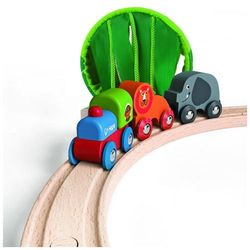 HAPE zestaw kolejowy - dżungla