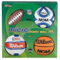Pozostałe sporty drużynowe, Zestaw Wilson MICRO SPORTS 0544