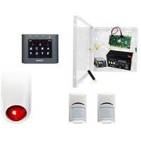 Sygnalizatory, Alarm do garażu: Ropam OptimaGSM-PS + 2xBosch+ TPR-2B-O + Sygnalizator