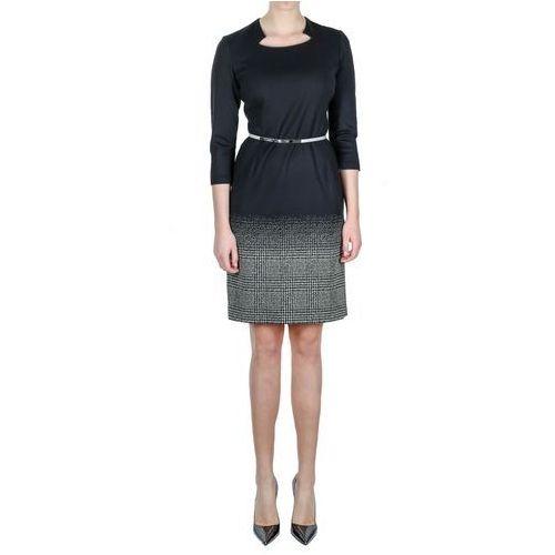 Suknie i sukienki, Czarna sukienka (Kolor: czarny, Rozmiar: 38)
