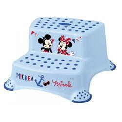 """keeeper Dwustopniowy podnóżek """"Mickey&Minnie"""", niebieski - BEZPŁATNY ODBIÓR: WROCŁAW!"""