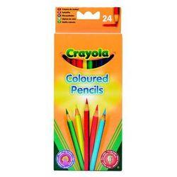 Crayola Kredki ołówkowe 24 szt. Darmowy odbiór w niemal 100 księgarniach!