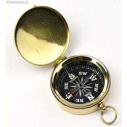 Mosiężny kompas kieszonkowy