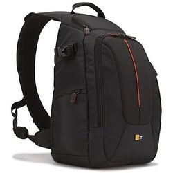 Case Logic dcb318 SLR Sling-plecak w zestawie: Aparat może pełnić & stativhalterung, czarny
