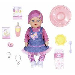 BABY born Soft Touch, dziewczynka w dżinsowej sukience, 43 cm