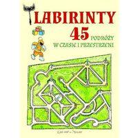 Pozostałe książki, Labirynty 45 podróży w czasie i przestrzeni Anastasia Zanoncelli (opr. broszurowa)