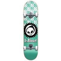 Pozostały skating, zestaw BLIND - Checkered Reaper Yth Fp Soft Wheels Complete Teal (TEAL) rozmiar: 7.375