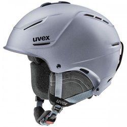 UVEX kask narciarski P1us 2.0 - strato met mat (55-59 cm)