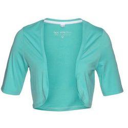 Bolerko shirtowe bonprix zielony oceaniczny