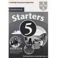 Książki do nauki języka, Cambridge Young Learners English Tests Second Edition Starters 5 Answer Booklet (opr. miękka)