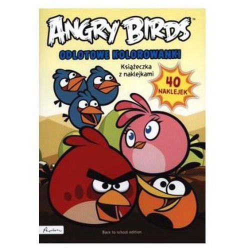 Kolorowanki, Angry Birds. Odlotowe kolorowanki Praca zbiorowa