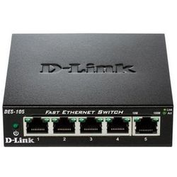 D-Link 5-port switch 10/100 Metal Housing