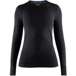 Craft Fuseknit Comfort Koszulka z długim rękawem Kobiety, czarny XL 2020 Podkoszulki z długim rękawem Przy złożeniu zamówienia do godziny 16 ( od Pon. do Pt., wszystkie metody płatności z wyjątkiem przelewu bankowego), wysyłka odbędzie się tego samego dnia.
