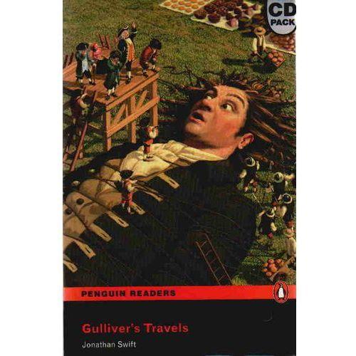 Książki do nauki języka, Gulliver's Travels + MP3 CD Penguin Readers Classic (opr. miękka)