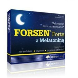 Olimp Forsen Forte z Melatoniną 30 kaps. Lepszy sen 40443