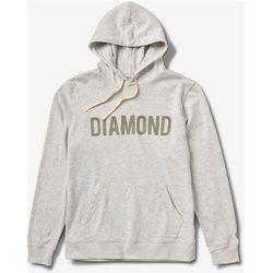 bluza DIAMOND - Diamond French Terry Hoodie Heather Ash (HTASH) rozmiar: L