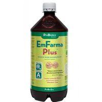 Odżywki i nawozy, PROBIOTICS EmFarma PLUS przyspiesznie rozkładu materii organicznej 1litr