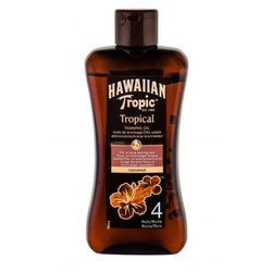 Hawaiian Tropic Tropical Tanning Oil SPF4 preparaty po opalaniu 200 ml unisex