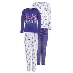Carter's GIRL BEAUTY NEEDS HER SLEEP 2 PACK Piżama purple