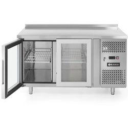 Stół chłodniczy 2-drzwiowy przeszklony