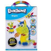 Kreatywne dla dzieci, Spin Master BUNCHEMS Zestaw świecący w ciemności, Smoki