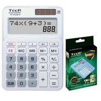 Kalkulatory szkolne, Kalkulator dwuliniowy 10-pozyc. TR-1223DB-W TOOR
