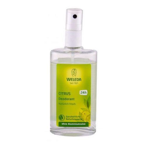 Dezodoranty damskie, Weleda Citrus dezodorant 100 ml dla kobiet