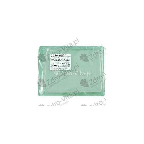 Pozostałe materiały opatrunkowe, Opatr.hydrożel.Aqua Gel czwor. 10x12cm 1 s