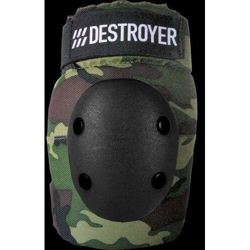 Ochraniacze na ciało, ochraniacze na łokcie DESTROYER - Pro Elbow Camo (CAMO) rozmiar: M