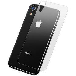 Baseus Full Tempered Glass Rear Protector szkło hartowane na tył obudowę telefonu iPhone XR / iPhone XI 6.1 przezroczysty (SGAPIPH61-ABM02)