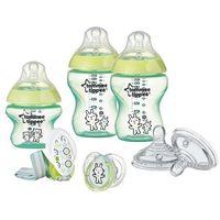 Butelki do karmienia, TOMMEE TIPPEE 42244777 Closer to nature Zestaw początkowy dla noworodka