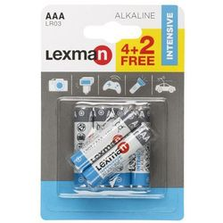 Bateria ALKALICZNA LR03/AAA 6 SZT. LEXMAN
