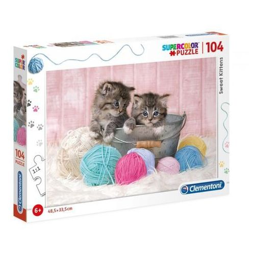 Puzzle, Puzzle Supercolor 104 Sweet Kittens