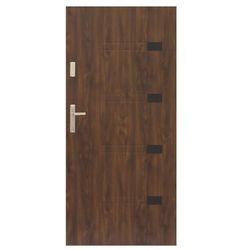 Drzwi zewnętrzne Prado 90 prawe orzech