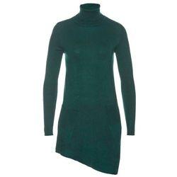 Sweter z domieszką jedwabiu bonprix brunatny