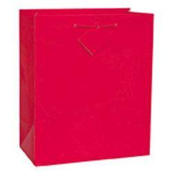 Torebka prezentowa czerwona 27x32 cm - 1 szt.