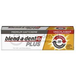 BLEND-A-DENT PLUS Duo Kraft (podwójna moc) 40g - klej do protez o wzmocnionym działaniu (złoty)
