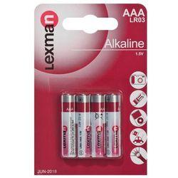 Baterie alkaliczne LR03 / AAA LEXMAN
