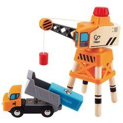 Hape Zabawkowy dźwig-żuraw, duży, E3715 Darmowa wysyłka i zwroty