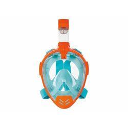 CRIVIT® Maska pełnotwarzowa z fajką do nurkowani